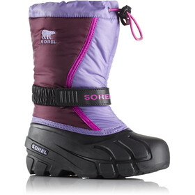 Sorel Youth Flurry Boots Purple Dahlia/Paisley Purple